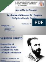 Concepts normatif surplus et optimalité de Pareto.pptx