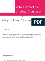 what factors affect amount of sleep you get -2