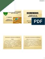 Teoría de la Administración 1 FCE UNA 2015