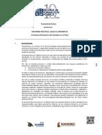 Proyecto Reforma Politica Completo Nuevo