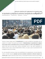 Métodos Para Evangelizar Usados en España Que Te Ayudarán a Preparar Tu Próxima Campaña de Evangelismo