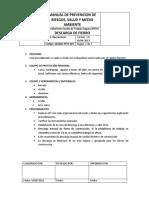 Procedimiento Ssoma-pets-007.01 Descarga de Fierro