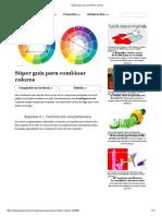 Súper Guía Para Combinar Colores