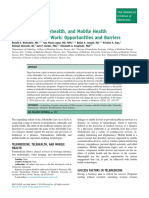Telemedicine Telehealth and Mobile_2014