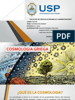 Cosmologia Griega