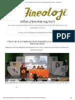 Cierre de La I Conferencia de Jineolojî en La Federación Del Norte de Siria – JINEOLOJI