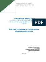 Analisis Articulos (Faviola Sanchez) Ministerio Publico