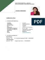 Gladys Ñahuis Bernedo Curriculum Listo