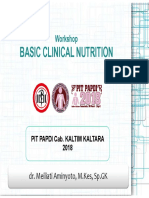 Basic Clinical Nutrition