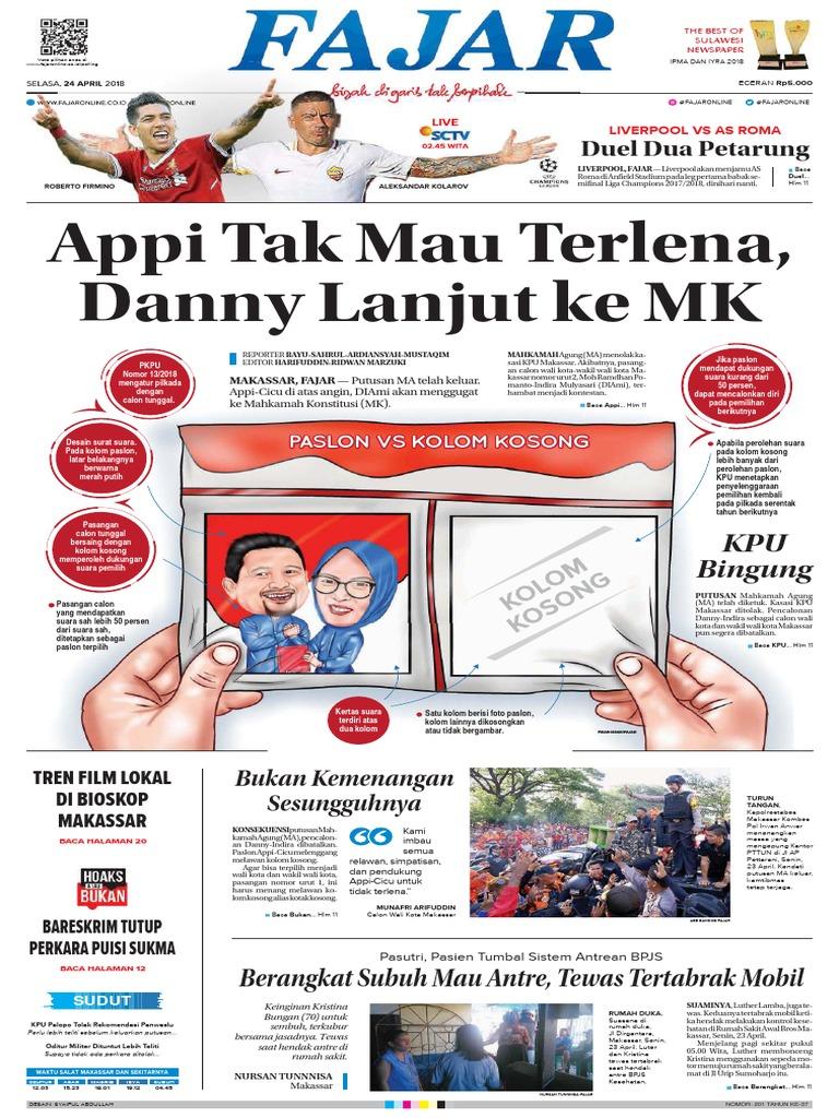 Fajar Makassar 24-04-2018