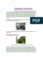 Ppt on Pre Stressed Concrete