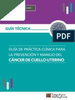 Guia Tecnica Cancer Cuello Utero