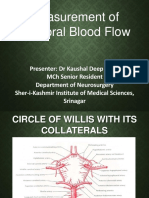 Dr Kaushal Cerebral Blood Flow PPT