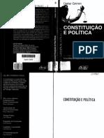 Constituição e Política - Dieter Grimm
