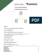 02_MySQLCluster InstalaçãoV6