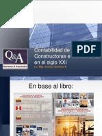 MG. JHONNY QUINTANA La Contabilidad de Empresas Constructoras e Inmobiliarias en El Siglo XXI