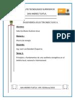 Auditoria Energetica Local, Nacional e Internacional
