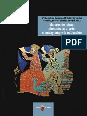 El Letras Pioneras De Elensayismo La Educación Mujeres Y En Arte WYDH2E9beI