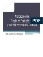 Função de Produção ESC