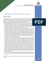 Principales Políticas de Evaluación de La Educación en México