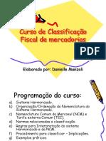 Curso de Classificacão Fiscal de Mercadorias