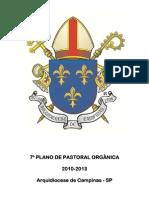 7º Plano de Pastoral[1]