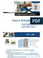 Clase 3. IPv6 Addressing