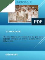 La Rhétorique.presentación
