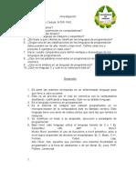 Cuestionario Programacion J.A