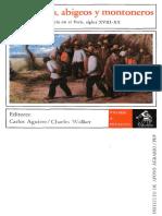 Bandoleros, abigeos y montoneros. Criminalidad y violencia en el Perú, siglos XVIII - XX