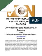 Dispute Resolution Procedure_SP.pdf