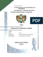 Informe Final La Mision