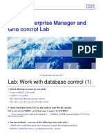 Unit 14 Oracle Enterprise Manager and Grid Control Lab