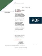 Poème Le Baiser (II) - Germain Nouveau