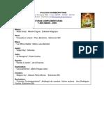 Lecturas Complementarias2009