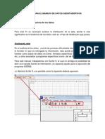 Manual Para El Manejo de Datos Geostadisticos