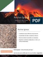 Aula 2 - Rochas Igneas - Considerações Sobre o Magma, Paragênese Mineral_VCM