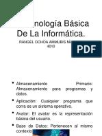 Terminologia de La Informatica. MAR