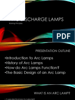 Arc Discharge Lamps - A Short Presentation