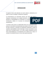 Informe de Niveles Jerarquicos y Nomenclaturas Administrativas