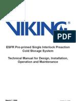ESFR Cold Storage Manual A4 UD March 2008