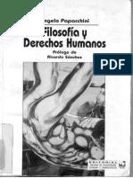 Papacchini_Filosofía y derechos humanos
