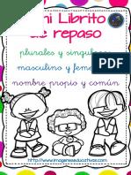 Mini Librito de Los Plurales y Singulares 2018 PDF