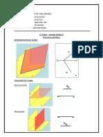 Posiciones Del Plano Geometria Descriptiva