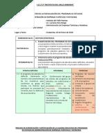 Matriz de Registro de Autoevaluación
