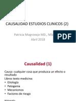 Causalidad Estudios Clinicos