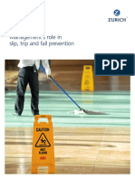 Managements Role in Slip Trip Fall Prevention