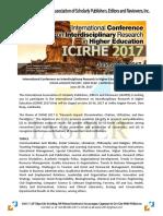 AdVISORY ICIRHE 2017
