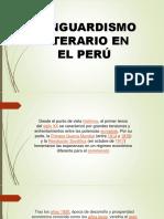 DIAPOSITIVAS VANGUARDISMO PERUANO
