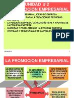 Unidad # 2 Promocion Empresarial